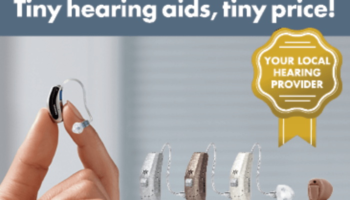tiny hearing aids advertisement
